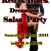 RED & BLACK SALSA PARTY