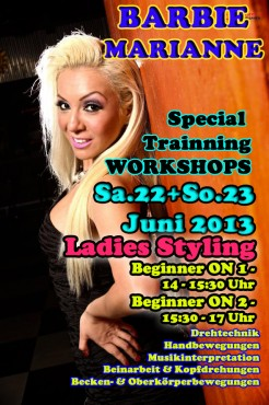 BARBIE WORKSHOPS- 22+23 Juni 2013
