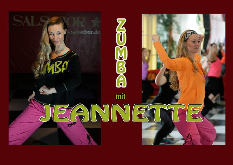 Zumba mit Jeannette