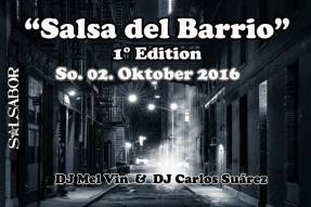 Salsa del Barrio / 1° Edition @ Salsabor Dance Academy   München   Bayern   Deutschland
