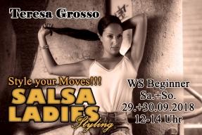 WS Ladies Styling mit Teresa Grosso @ Salsabor Dance Academy | München | Bayern | Deutschland