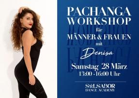 Pachanga Workshop für Männer und Frauen mit Denisa